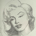 Marlyn Munroe by Asha Sudhaker Shenoy