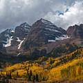 Maroon Bells Peaks by Cascade Colors