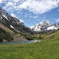 Maroon Bells Wilderness Panorama by Adam Jewell