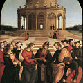 Marriage Of The Virgin - 1504 by Raphael