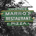 Marro's Restaurant by Jost Houk
