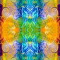 Marrying A Rainbow Abstract Bliss Art By Omashte by Omaste Witkowski