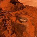 Mars Landscape by Gaspar Avila