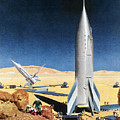 Mars Mission, 1950s by Granger
