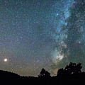 Mars - Perseid Meteor - Milky Way by James BO Insogna