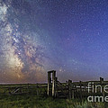 Mars, Saturn & Milky Way Over Ranch by Alan Dyer