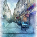 Marseille Back Street by Paulette B Wright