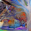 Marsh Berea Mb Church In Color by Karen Wagner