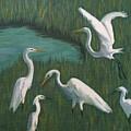 Marsh Gathering by Jill Ciccone Pike