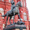 Marshal Georgy Konstantinovich Zhukov Statue by Alain De Maximy
