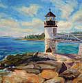 Marshal Point Light by Elena Shapiro