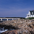 Marshall Point Light by Skip Willits