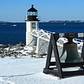 Marshall Point Snow by Doug Mills