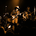 Marshall Tucker Winterland 1975 #12 Enhanced In Amber by Ben Upham