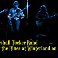 Marshall Tucker Winterland 1975 #18 Enhanced In Blue With Text by Ben Upham
