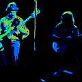 Marshall Tucker Winterland 1975 #18 Enhanced In Cosmicolors #2 by Ben Upham