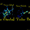 Marshall Tucker Winterland 1975 #19 Enhanced In Cosmicolors With Text by Ben Upham