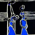 Martha And Mary Of Bethany by Gloria Ssali