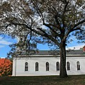 Martha Mary Chapel In Sudbury Ma 2 by Michael Saunders