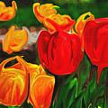 Martha's Garden by Laura Mace Rand