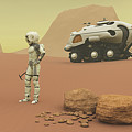 Martian Exploration by Corey Ford