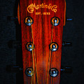 Martin And Co. Headstock by Bill Cannon