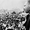 Martin Luther King Addresses Selma by Everett