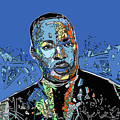 Martin Luther King Color by Bekim Art