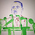 Martin Luther King by Jack Bunds