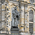 Martin Luther Monument Dresden by Christine Till