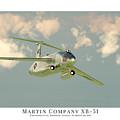 Martin Xb-51 by John Matthews