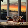 Martini At Sunset by Joshua Sunday