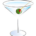Martini Glass by Tom Kostro