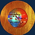 Martini Porthole by Tracy Long