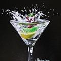 Martini Splash by Mandy Joy