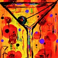 Martini Twentyfive Of Sidzart Pop Art Collection by Sidra Myers