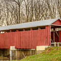 Martinsville Covered Bridge by Jack R Perry
