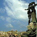 Martyr's Statues In Beirut by Sami Sarkis