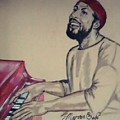 Marvin Gaye by Sylvester Wofford