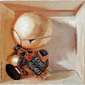 Marvin, Paranoid Android In A Box by Haze Long
