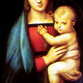 Mary And Baby Jesus by Munir Alawi