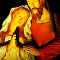 Mary And Joseph by Ed Weidman