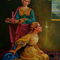 Mary And Martha by Alan Carlson