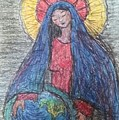 Mary, Queen Of Heaven, Queen Of Earth by Cynthea Greb