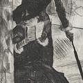 Mary Stevenson Cassatt by Edgar Degas