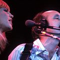 Mary Travers And Peter Yarrow by David Bishop
