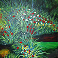 Maryann's Garden 3 by Nancy Mueller
