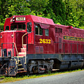 Maryland And Delaware Engine 2632 by Bill Swartwout Fine Art Photography