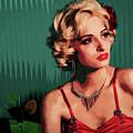 Marylin Monroe by Riobom Santos