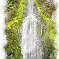 Marymere Falls Wc by Peter J Sucy